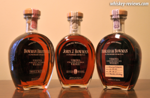 A. Smith Bowman Bottles