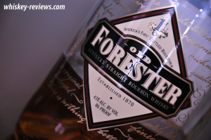 Old Forester Bourbon Label