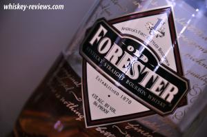 Old Forester Bourbon Label