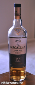 Macallan Fine Oak 10 Year Old Scotch