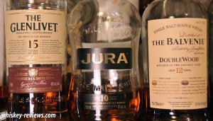 Glenlivet Jura Balvenie Bottles