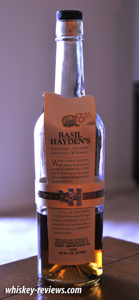 Basil Hayden S Bourbon Review Whiskey Reviews Com