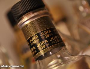 Jura 10 Year Old Scotch Detail