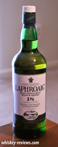 Laphroaig 18 Year Old Scotch