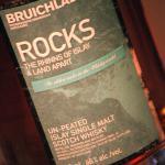 Bruichladdich Rocks Scotch Detail