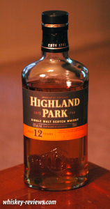 Highland Park 12 Year Old Scotch