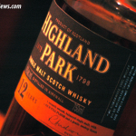 Highland Park 12 Year Old Scotch Detail