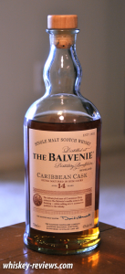 Balvenie Caribbean Cask 14 Year Old Scotch