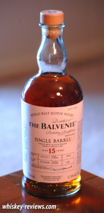 Balvenie Single Barrel 15 Year Old Scotch