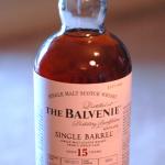 Balvenie Single Barrel 15 Year Old Scotch