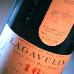 Lavavulin 16 Year Old Scotch Detail