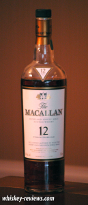 Macallan 12 Year Old Scotch