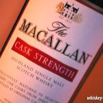 Macallan Cask Strength Detail