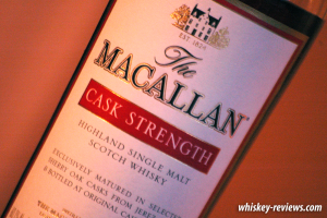 Macallan Cask Strength Detail