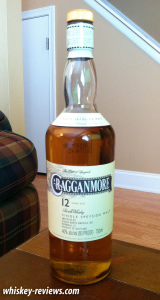 Cragganmore 12 Year Old Scotch