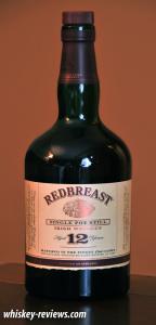 Redbreast 12 Year Old Irish Whiskey
