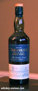 Talisker Distillers Edition Scotch