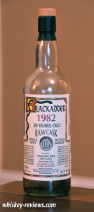 Blackadder 1982 Highland Park Distillery Scotch