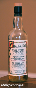 Blackadder Longmorn Distillery 13 Year Old Scotch