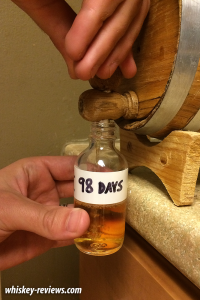 Mini Barrel Aging Experiment 10