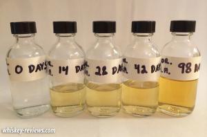 Mini Barrel Aging Experiment 11