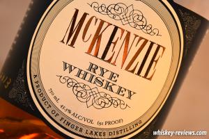 McKenzie Rye Whiskey Detail