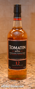 Tomatin 12 Year Old Scotch