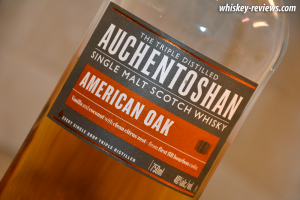 Auchentoshan American Oak Scotch Detail