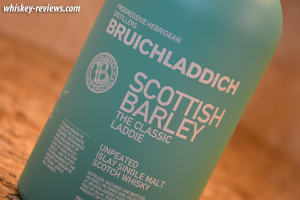 Bruichladdich Scottish Barley Classic Laddie Scotch Detail