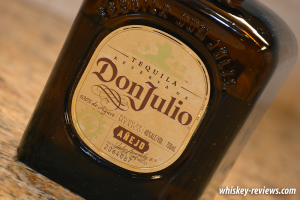 Don Julio Tequila Añejo Detail
