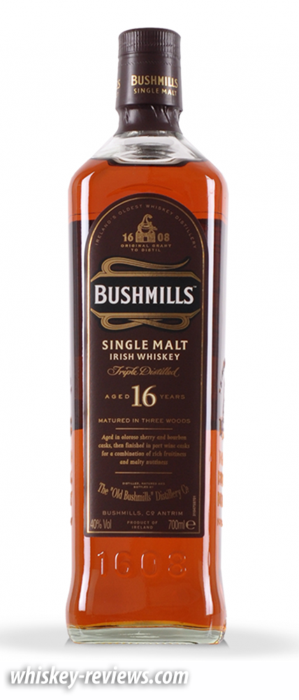 Bushmills 10 years Irish Single Malt Review - The Whiskey Jug